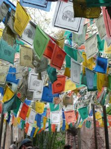 Tibetan Prayer Flags (displayed at Disney World)
