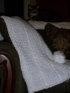 Prayer shawl with Eve's blessing