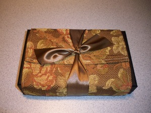 Wrap jewelry box