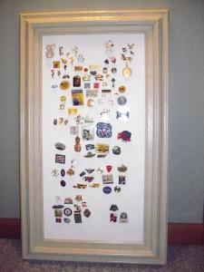Real Pins Framed
