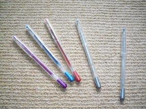 Remember gel pens?