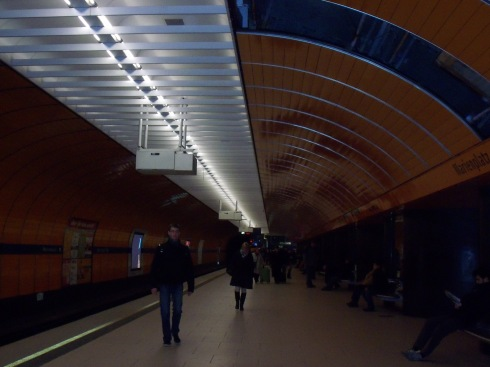 Munich U-Bahn 1