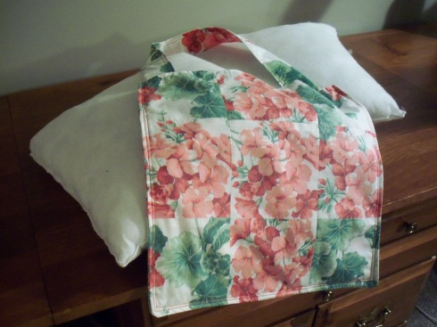 From curtains, to pillow covers, to three pocket tote