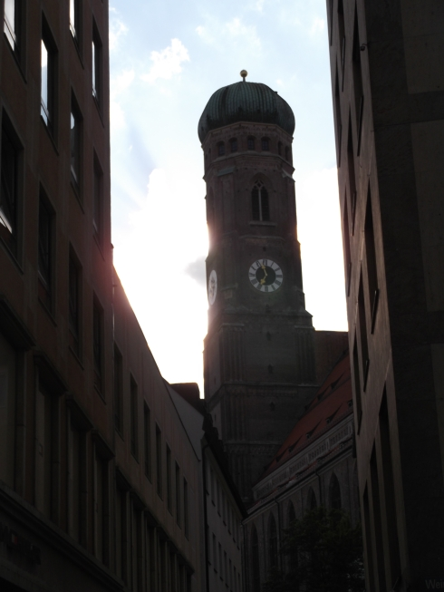 Clock tower, Munich