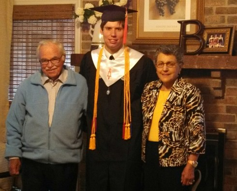 Graduate with Grandparents