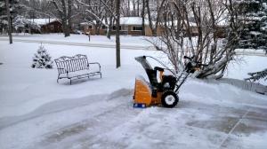 Cub Cadet snow blower