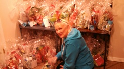 Mission accomplished: 72 shower caddy gift bags for the women at Wheeler Mission