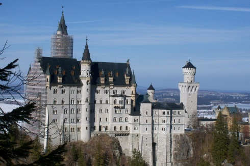 Neuschwanstein Castle, Bavaria 2012