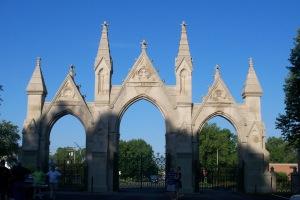Crown Hill Entrance
