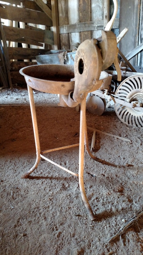 1930s device to heat horseshoes