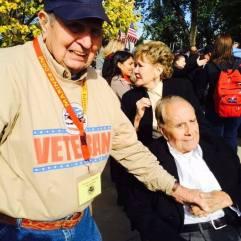 2014 Honor Flight, met Senator Bob Dole